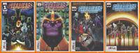 GUARDIANS OF THE GALAXY #1 2 3 4 (1st PRINT) Thanos Gamora Marvel 2019 NM- NM