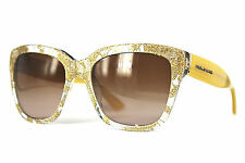 Dolce&Gabbana Sonnenbrille/Sunglasses DG4226 2851/13 Gr.56 Ausstellung. #507(33)