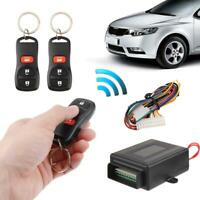 Universal Car Alarm Systems Vehicle Remote Central Kit Door Lock Keyless Entry