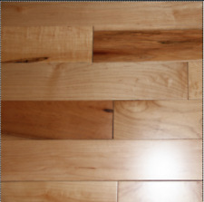 """Country Natural Maple Maple  5.00"""" FIRST QUALITY SOLID HARDWOOD FLOORING SAMPLE"""