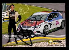 Andreas Pfister Autogrammkarte Original Signiert Motorsport+A 172259