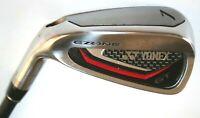 Yonex Ezone GT 7 iron with Yonex EX-320 regular shaft CART CLUB LEFT HANDED