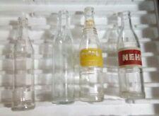 Lot of 4 Vintage Nehi And Nugrape Bottles