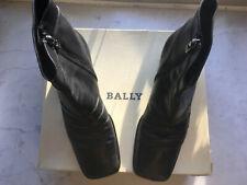 Bally Bollario Stiefelette schwarz 5 cm Absatz Gr. 39 EU 5 1/2 US 8