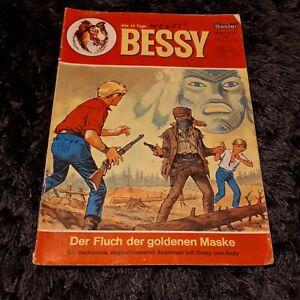 BESSY Nr. 57, BASTEI Western-Comic mit Kreuzer + Langnese Werbecomic  1966