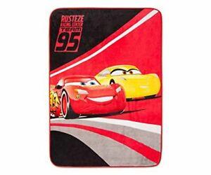 Disney Cars Pixar Throw McQueen Plush Fleece Blanket
