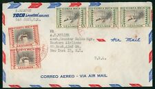 Mayfairstamps Costa Rica 1959 to US Airmail TACA Airmails cover wwo1625
