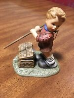 "HUMMEL GOEBEL FIGURINE ""FISHING FOR TROUBLE"" BH118 VINTAGE 1999"