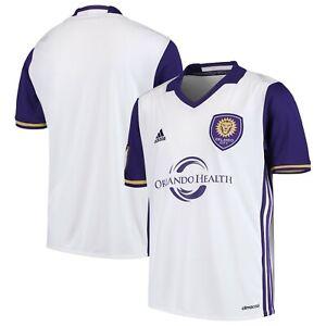 adidas Orlando City Soccer Away Jersey White AK0593