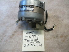 SONY TC-777 Take-up Reel Table motor- IC524R1