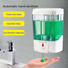 700ml Automatic Sensor Soap Dispenser For Touchless Liquid Gel Wall Mounted