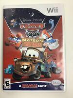 Cars Toon Mater's Tall Tales Nintendo Wii Video Game mania Disney Pixar 4 Player