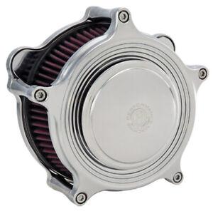 Performance Machine 0206-2063-CH Super Gas Merc Air Cleaner Harley FXR Chrome HB