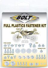 Bolt MC Hardware Full Plastic Fastener Kit HON-0007124 Honda CR250R 00-07