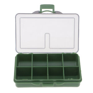 4/6/8 Fishing Tackle Box Compartment Small Hook & Lures Case Fishing Tool