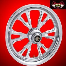 """Suzuki GSX-R 600 Custom Chrome Wheels, """"The Exile"""" by FTD Customs, GSX-R 600"""