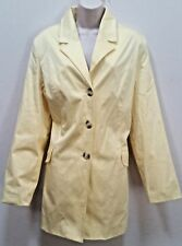 Women's Tender Lemon Spring/Fall Jacket Blazer Stretch Size 16