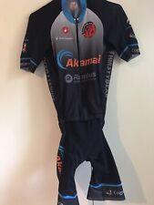 Castelli Cycling Bib Aero Skinsuit Speedsuit Sz M Road Bike Race Thirsty Bear