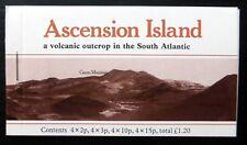 Ascension Island 1981 volcanique £ 1.20 livret SB3 Cat £ 12 NF437