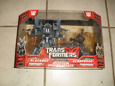 Transformers  Blackout and Scorponok