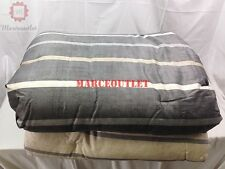 Hotel Collection Colonnade KING Comforter & Shams Set Gray / Cream