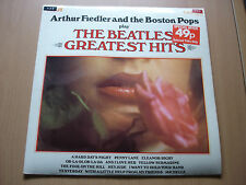 LP - Arthur Fiedler and the Boston Pops play THE BEATLES GREATEST HITS