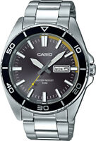 Casio  MTD120D-8A Men's Analog Stainless Steel Sports Watch 100M Diver