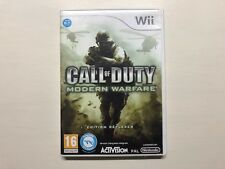 Call Of Duty Modern Warfare Complet Testé Wii