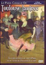 Le Paris canaille de Toulouse Lautrec - Dvd LCJ 2011 - TBE