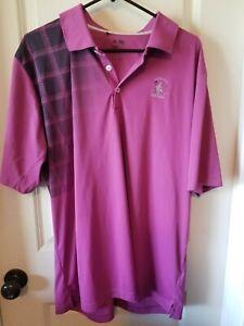 Men's Adidas Golf Size XL Clima Cool Golf Shirt