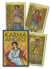 Karma Angels Oracle Deck - Faith, Life & Death - 32 Cards & 192 Page Guidebook