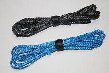 6ft Ultralight Whoopie Slings - Amsteel - Blue/Black- Hammock Suspension - USA