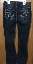SILVER AIKO BOOTCUT Womens W27/L31Jeans-ACTUAL SZ-W29XL29.5-EUC~