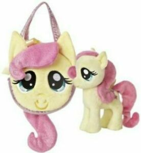 Aurora Fluttershy 6.5-Inch My Little Pony with Pony Tail Purse