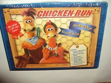 Vintage 2000 Dreamworks Chicken Run 7 Activity Book Kit+Posters New In Package!