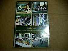 postkarte berlin  ansichtskarte grüße vom kunst-& handwerkermarkt berlin