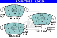 Bremsbelagsatz Scheibenbremse ATE Ceramic - ATE 13.0470-7256.2