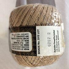 Milford Cotton 4 PLY 50g BROWN #0707 Dye Lot 2