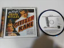 CITIZEN KANE CIUDADANO KANE SOUNDTRACK OST BSO CD BERNARD HERMANN ORSON WELLES