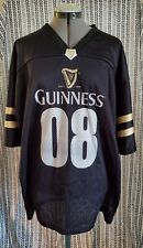 Guinness Beer Sports Jersey #08 Xl Mens