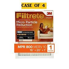 Filtrete 16x20x1, Allergen Defense Micro Particle Reduction Hvac Furnace Air Fil
