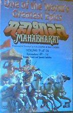 Mahabharat DVD VOL 9 EPISODES 49-54 SUBTITLES IN Hindi English, French, Spanish