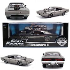 Fast & FURIOUS DOM'S Dodge Charger R/T CHROME Limited 1:24 Diecast JADA 97443