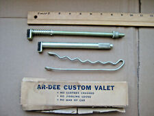 Vintage Ar-dee Clothes Hanger Bar / Valet Ar-Dee Automotive Products Chicago Usa