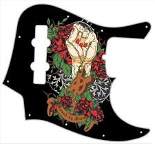 J Bass Pickguard Custom Fender Graphic Graphical Guitar Pick Guard Bound Faith