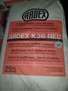 Ardex K36 NEU Ausgleichmasse 25 kg Bodespachtelmasse Nivelliermasse