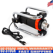 Electric Concrete Vibrator Motor With 14-3/4 Ft Poker to Remove Air Bubble Level