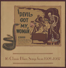 V/A - Devil Got My Woman: 16 Classic Blues Songs LP NEW / RED & YELLOW VINYL