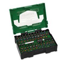 Hitachi Bit-Box (Box II) 60-tlg. 40030024 PH, PZ, Torx, Schlitz, Inbus + Halter