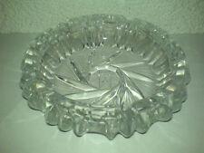 Zigarettenascher Aschenbecher Glas Glass Mid Century 60s ? 70s ? mit 5 Ablagen *